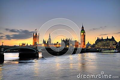 Ben grande, Londres