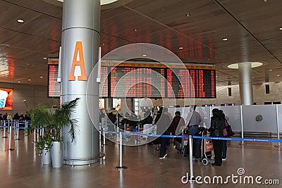 Ben Gurion Airport. Tel Aviv Editorial Image