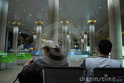 Ben Gurion (airport in Tel Aviv, Israel) Editorial Photo