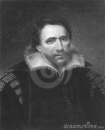 Ben Jonson Editorial Stock Photo