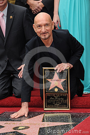 Ben Kingsley Editorial Image