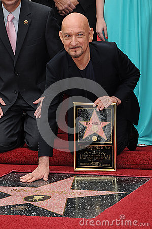 Ben Kingsley Editorial Photo
