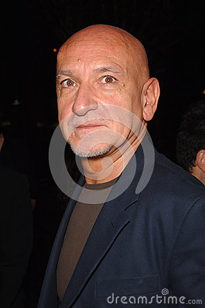 Ben Kingsley Editorial Stock Image