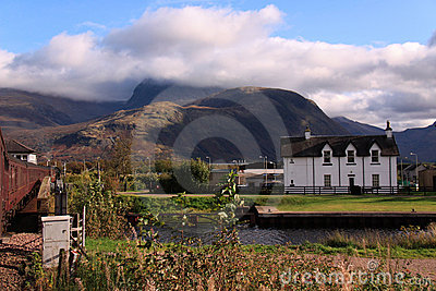 Ben Nevis and the Caledonian Canal, Scotland