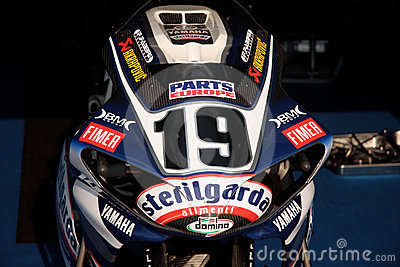 Ben Spies Yamaha YZF-R1 Editorial Photography