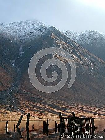 Free Ben Starav, Old Jetty, Loch Etive, Scotland Stock Photography - 652762