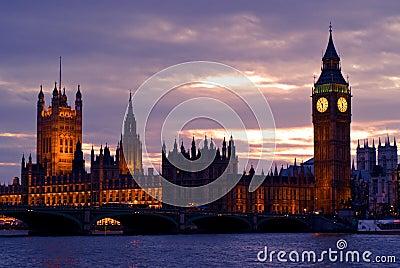 Ben stor england london horisont