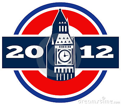 Ben stor klocka london tower2012