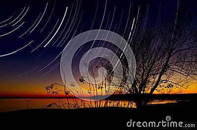 Benbrook Lake Nightfall
