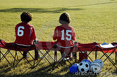 On The Bench. Stock Image - Image: 299401