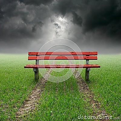 Free Bench Royalty Free Stock Photo - 5005425