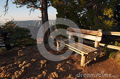 Bench on the edge