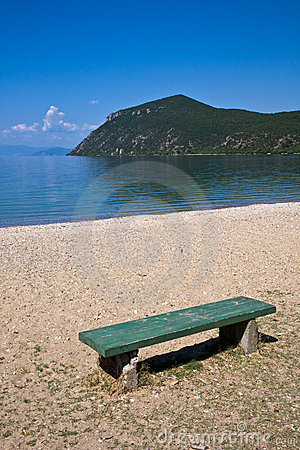 Bench at Lake Ohrid