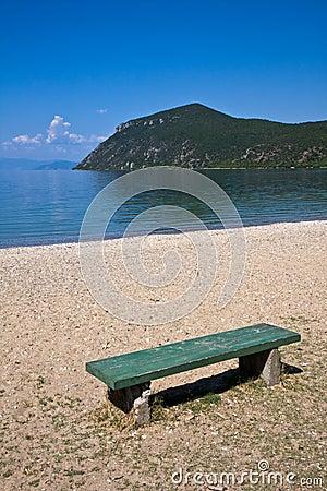 Bench at Lake Ohrid