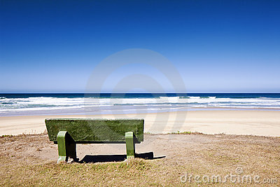 Bench with Ocean View