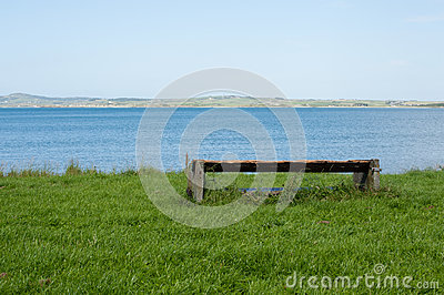 Bench with panoramic view