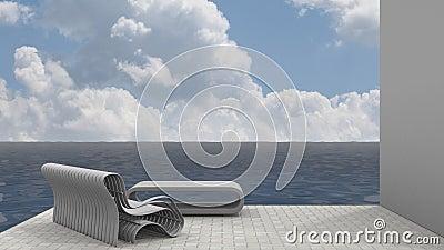 Bench Seat and Ocean Breeze