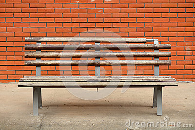 Bench on the street