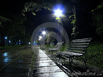 A bench to rain 2