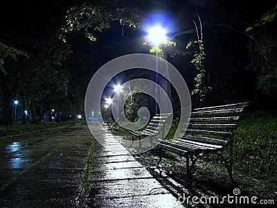 A bench to rain 2