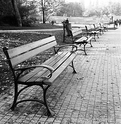Benches.