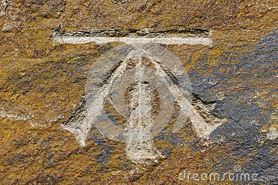 Benchmark symbol