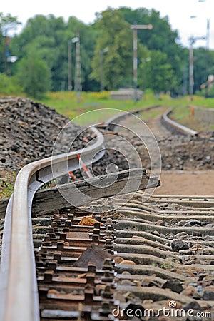 Bended track