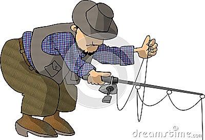 Bending Fisherman