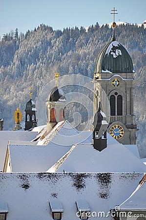 Free Benedictine Abbey Of Einsiedeln Stock Photo - 12372580
