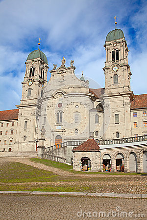 Free Benedictine Abbey Of Einsiedeln Stock Photos - 26994283