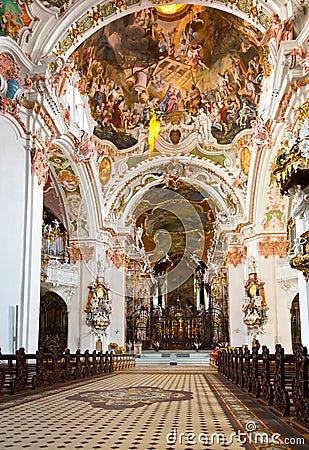 Free Benedictine Abbey Of Einsiedeln, Switzerland Royalty Free Stock Photo - 31462745
