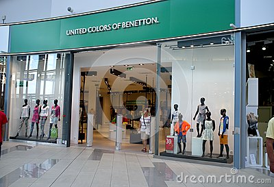 Benetton store in Bratislava