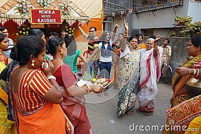 Bengali Family Editorial Stock Image