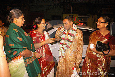Bengali wedding Rituals in India Editorial Photography