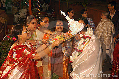 Bengali wedding Rituals in India Editorial Photo