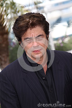 Benicio Del Toro Editorial Stock Photo