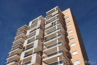 Benidorm apartment building