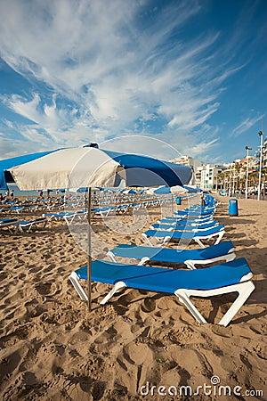 Benidorm beach Editorial Photo