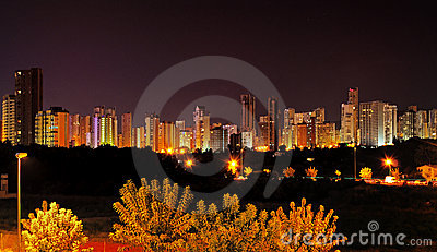 Benidorm Skyline, Spain