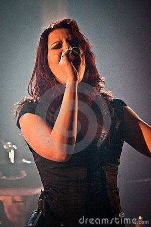Benighted Soul Performing Live at Aula Magna Editorial Stock Photo