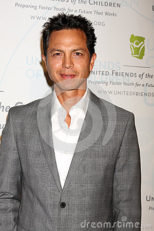 Benjamin Bratt arrives at the 2012 United Friends of the Children Gala Editorial Stock Photo