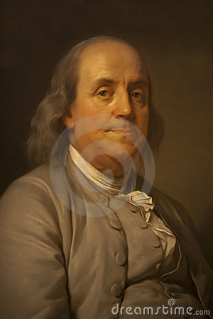 Benjamin Franklin Editorial Stock Image