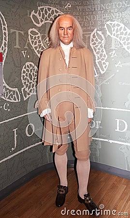 Benjamin Franklin Imagen de archivo editorial