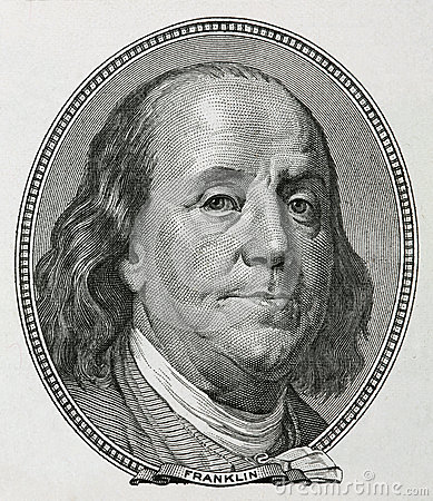 Free Benjamin Franklin Royalty Free Stock Images - 51761219