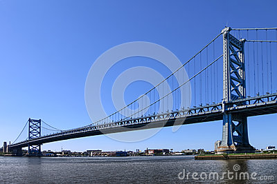 Benjamin Franklin Bridge Philadelphia Pennsylvania