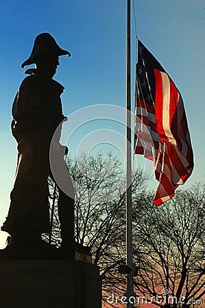 Benjamin Franklin Butler Monument, Federal Hill, Baltimore