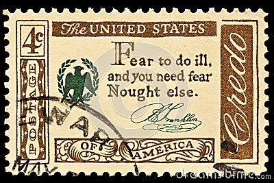 Benjamin Franklin Credo