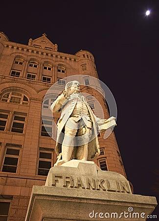Benjamin Franklin Statue Washington DC