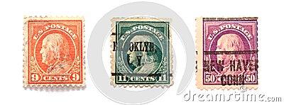Benjamin Franklin znaczków