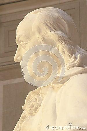 Benjamin Pomnik Franklin